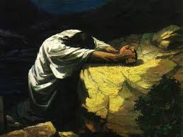 Jesus praying - gethsemane
