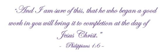 Philippians 1.6