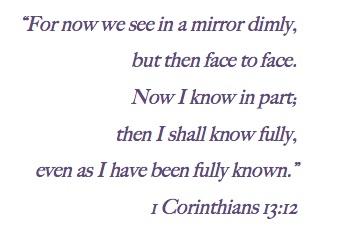 1 Corinthians 13.12