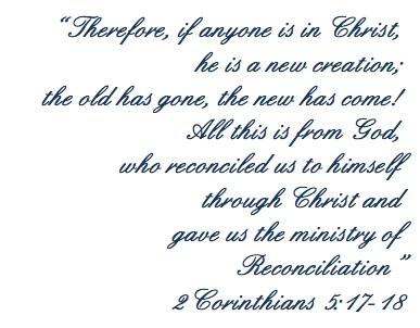 2 Corinthians 5.17-18